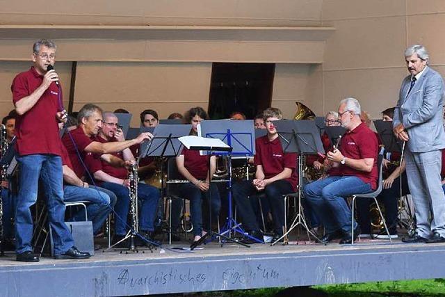 Stadtmusik in der Konzertmuschel