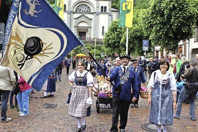 Kreistrachtenfest in Todtnau