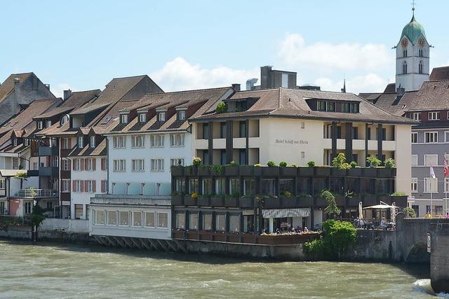 Entwurf fürs neue Hotel Schiff am Rhein verändert Altstadtansicht