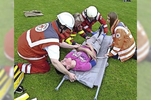 Übungsvorgabe: Menschen durch Blitz verletzt