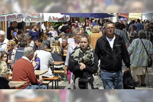 In Schopfheim steigt das Städtlifest
