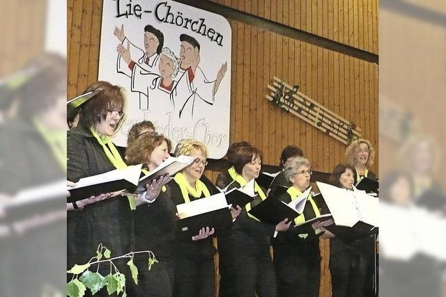 Lie-Chörchen feiert Jubiläum mit Musik