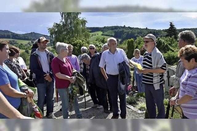 Spaziergang durch die Dorfgeschichte