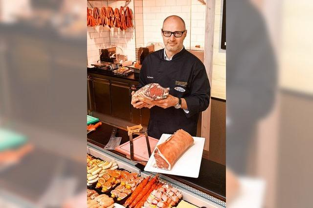 Metzger Peter Winterhalter ist Südbadens erster Fleischsommelier