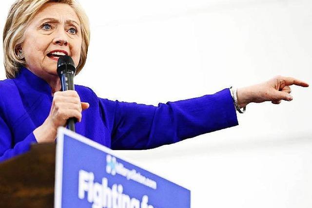 Steht Clinton schon als Spitzenkandidatin fest?