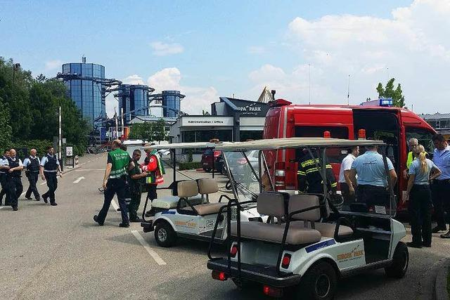 15 Menschen bei Chlorgas-Unfall im Europa-Park verletzt