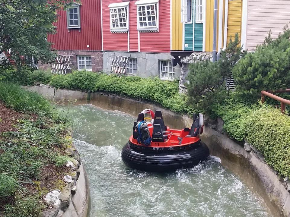 Fjord Rafting – hier ein PR-Bild...ereignete sich der Chlor-Zwischenfall.  | Foto: Bastian Bernhardt