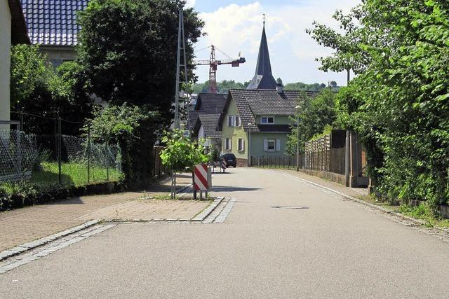 Die Gestaltung der Meiersmattstraße steht