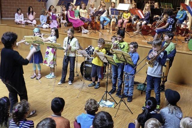 Musik spielt von klein auf eine wichtige Rolle