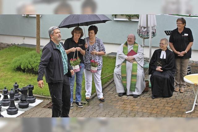 Im Brunnengärtle kommen die Senioren in Bewegung