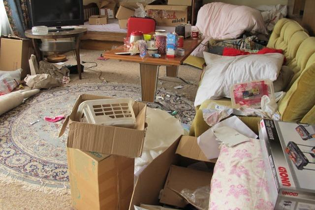 Mietnomaden hinterlassen verwüstete Wohnung in Bad Bellingen