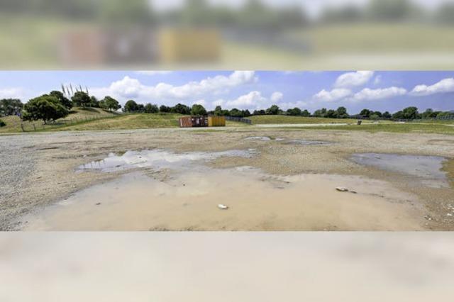 Stadtverwaltung versus ZMF: Zeltnägel in Wasserleitungen