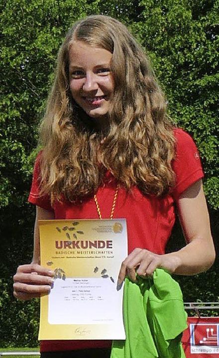 Meisterlich: Melina Huber   | Foto: ZVG