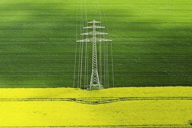 Die Stromtrassen kommen Jahre später