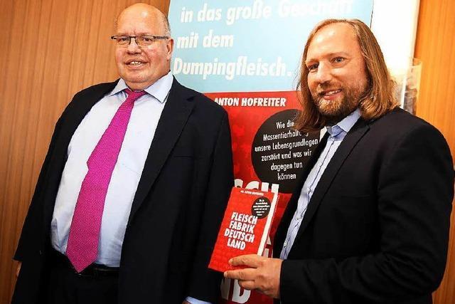CDU-Mann Altmaier stellt Buch von Hofreiter vor