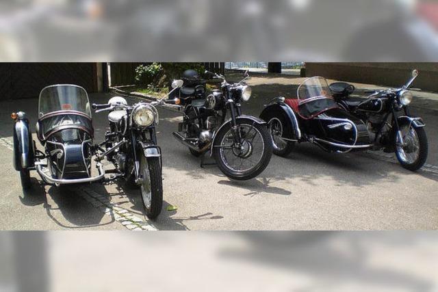 Motorräder und viel Musik