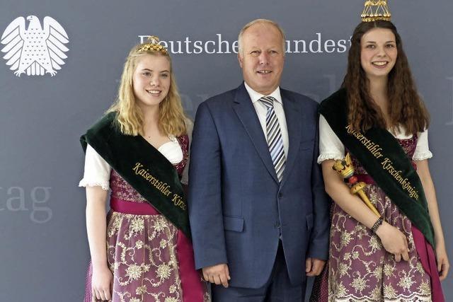 Königlicher Besuch in Berlin
