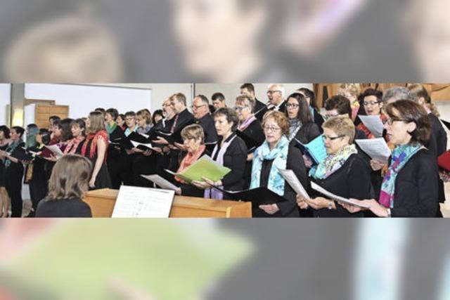 Premiere für den Gospelchor