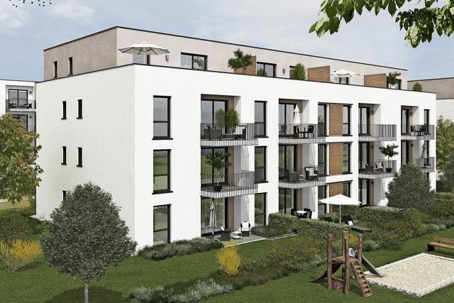 Im Baugebiet Jägeracker entstehen 200 neue Geschosswohnungen