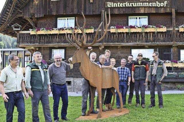 Andalusien hat den Stier – der Hochschwarzwald den Rothirsch