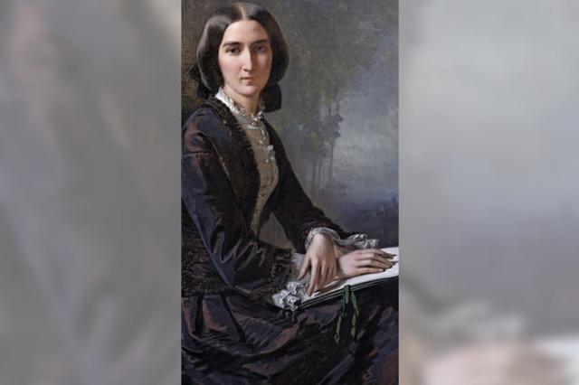Im Malerturm fertigte sie fein psychologisierende Porträts