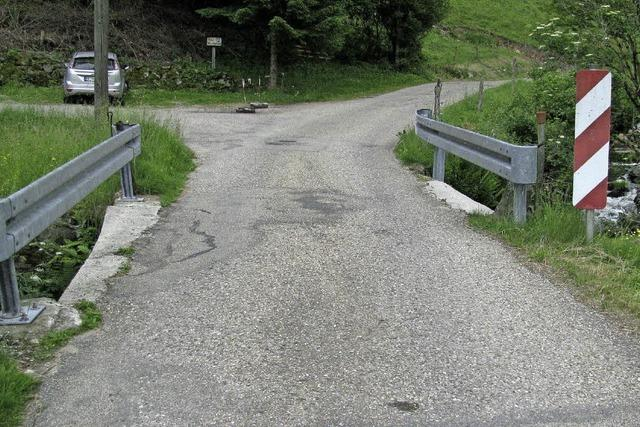 Jahrhunderte alte Brücke wird saniert