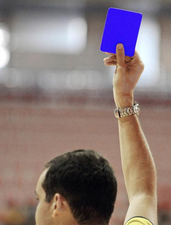 Handball Blaue Karte.Grünes Licht Für Blaue Karte Handball Allgemein Badische Zeitung