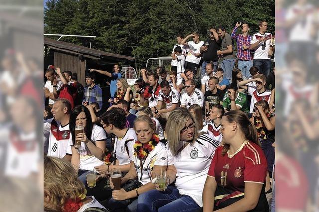 Public Viewing auf dem Hotzenwald