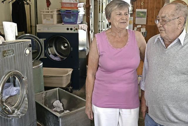Bald ist die letzte schmutzige Wäsche gewaschen