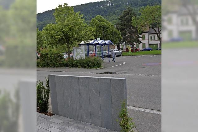 Keine Bushaltestelle am Rathaus