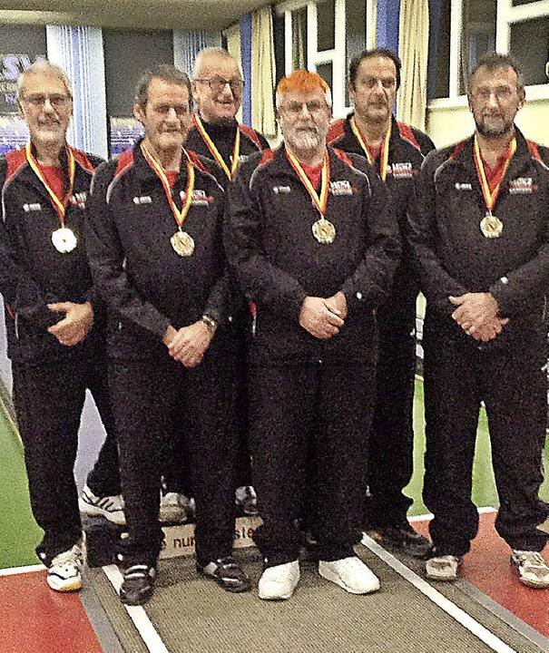 Eine starke Mannschaft: Thomas Krauss,...für die Deutsche qualifiziert haben.      Foto: PRIVAT