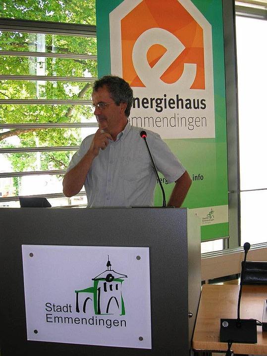 Patrick Barbier, Bürgermeister von Muttersholtz  | Foto: Sylvia-Karina  Jahn
