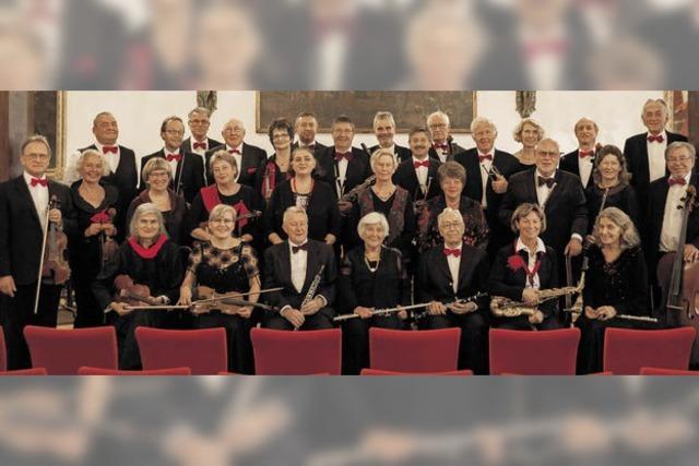 Mit dem Freiburger Senioren-Salonorchester in Hinterzarten