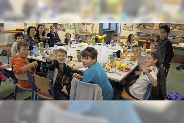 Klassenfrühstück als Dauerbrenner