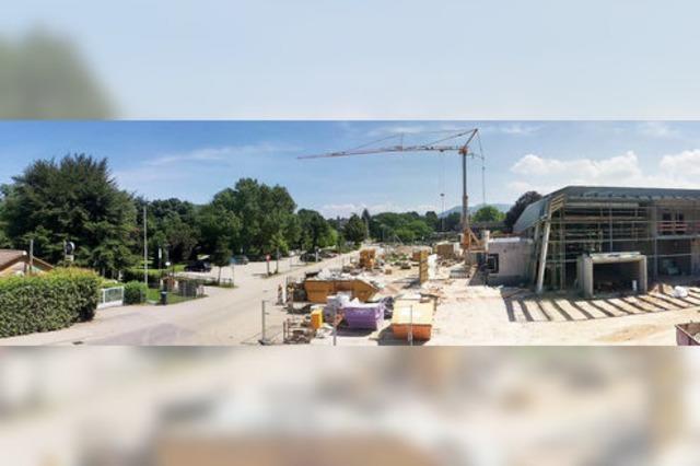 Der Bürgerpark wächst in Richtung Schwimmbad