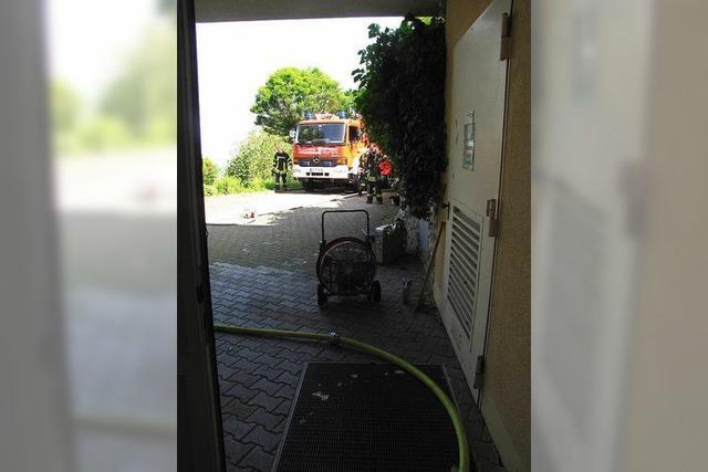 Feuerwehreinsatz in Pflegeheim in Staufen