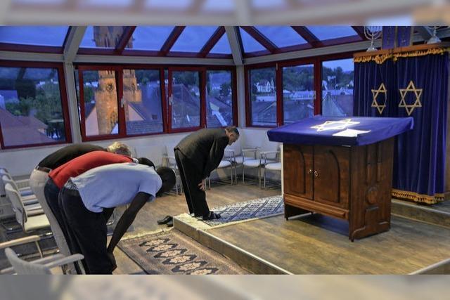 Fastenbrechen in der Synagoge