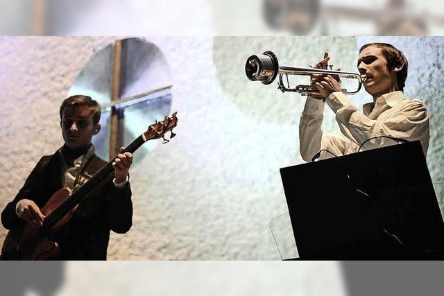 Luis Reichard und Lorenz Rosenthal gestaltet Münsterkonzert in Bad Säckingen