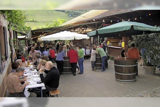 Feiern in Niederweiler