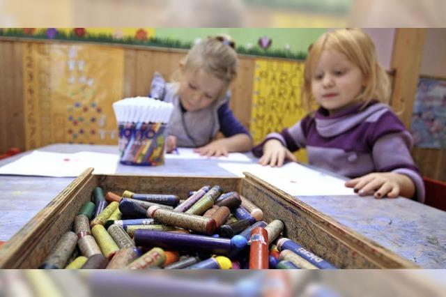 Die Kindergartenplätze werden knapp