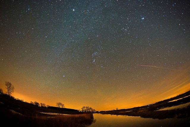 Nachts sind in vielen Regionen kaum noch Sterne zu sehen
