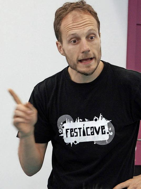 Benjamin Ludwig, stets voller Enthusiasmus für sein Anliegen  | Foto: Bärbel Nückles