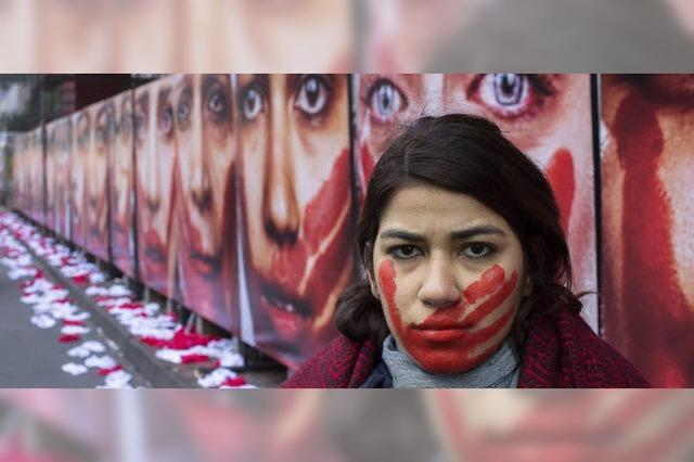 Protest gegen sexuelle Gewalt in Brasilien