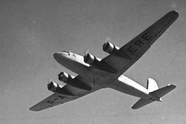 Wie Rentner das Condor-Flugzeug restaurieren