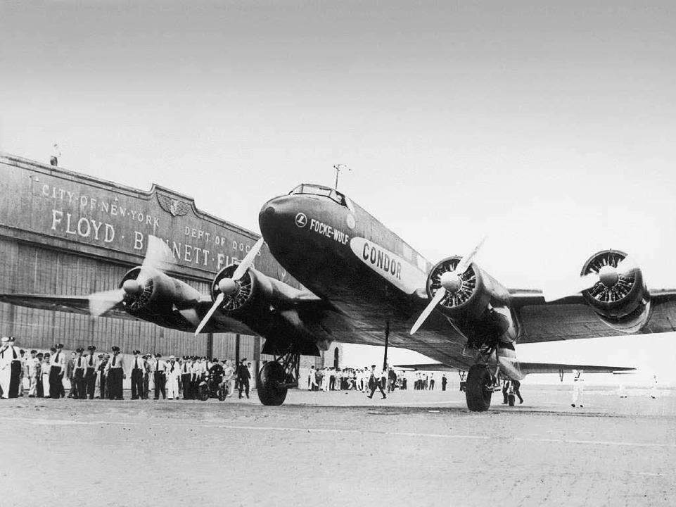 "Rekordflug: Die ""Condor""  ...rk                                   .  | Foto: Lufthansa"
