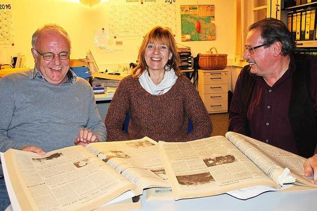 70 Jahre BZ: Lokalchefs plaudern aus dem Nähkästchen