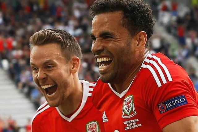 Duell der EM-Neulinge: Wales schlägt die Slowakei 2:1