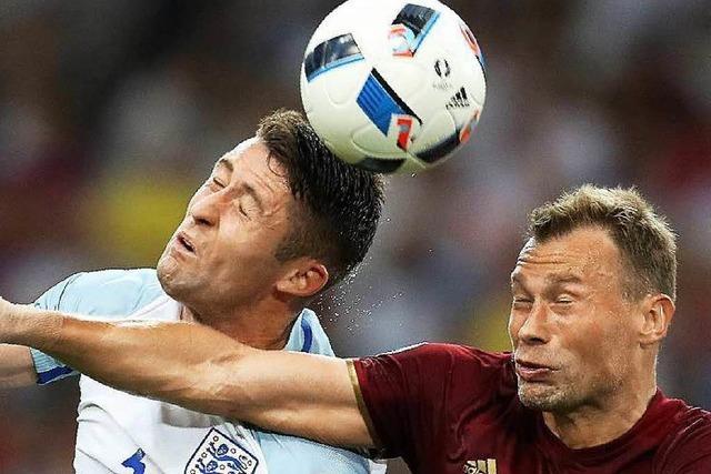 Ausgleich in letzter Minute: Russland trotzt England 1:1 ab