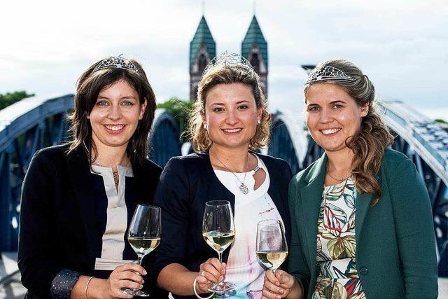 Nicole End aus Zell-Weierbach zur badischen Weinprinzessin gewählt