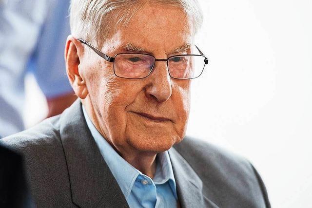 Auschwitzprozess: Verteidiger fordern Freispruch für Ex-SS-Mann